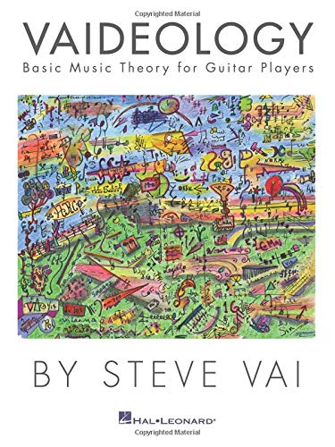 VAI STEVE VAIDEOLOGY BASIC MUSIC THEORY FOR GUITAR PLAYERS GTR TAB BK por Steve Vai