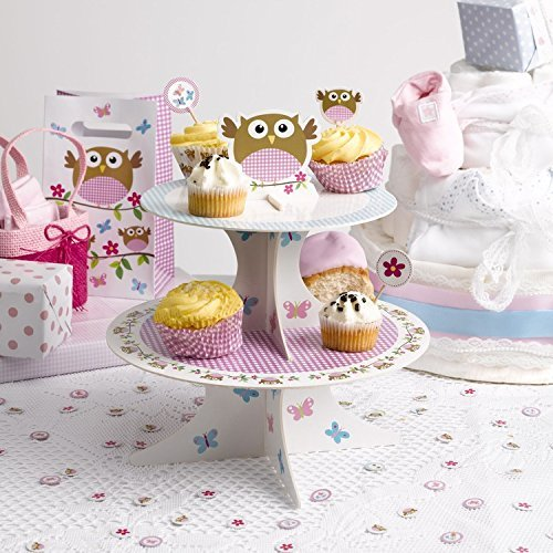 Neviti 672823 - Soporte para tartas, diseño de búho pequeño