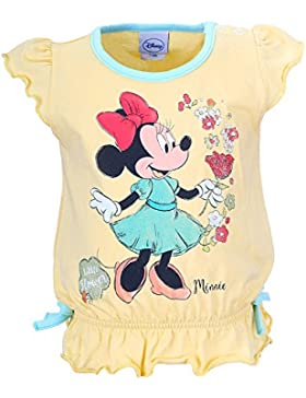DISNEY Bambina Minnie Mouse Maglietta, giallo