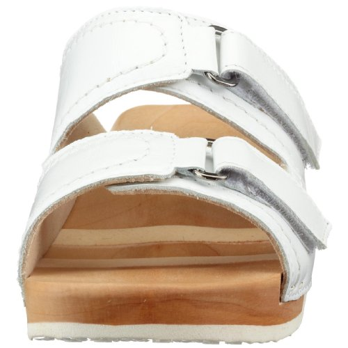 Woody Melina 6123, Chaussures femme Blanc