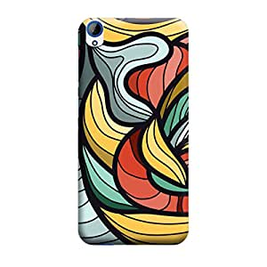 CaseLite Premium Printed Mobile Back Case Cover With Full protection For HTC 820 (Designer Case)