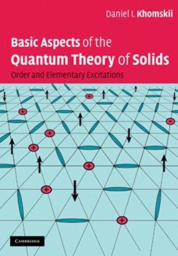 Basic Aspects of the Quantum Theory of Solids Hardback por Khomskii