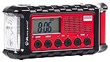 Midland ER300 Handkurbel Surival Outdoor-Radio , UKW , inkl. PowerBank Funktion , Solar , Handkurbel und SOS Lampe