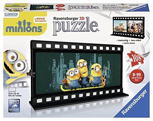 Minions - Puzzle 3D, 108 Pieces (11202)