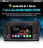 "Autoradio Erisin ES3661L 7"" Android 8.1 DAB+GPS Mercedes ML/GL Class W164 X164 Wifi Radio BT"