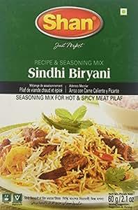 Shan Recipe & Seasoning Mix for Sindhi Biryani, 60g
