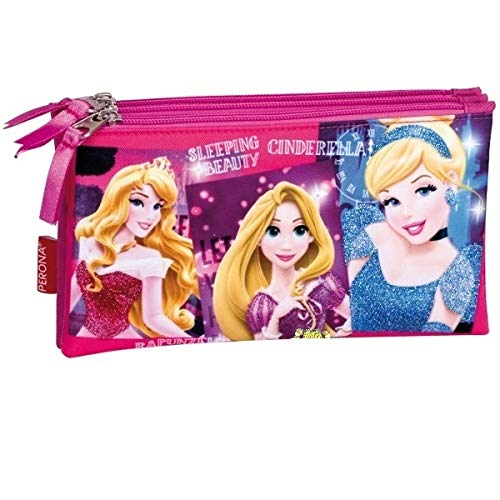 Princesas Disney 52317 - Portatodo triple