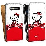 Samsung Galaxy S Advance i9070 Sacoche Housse de Protection Walletcase Bookstyle Hello Kitty Accessoire merchandising Mignon