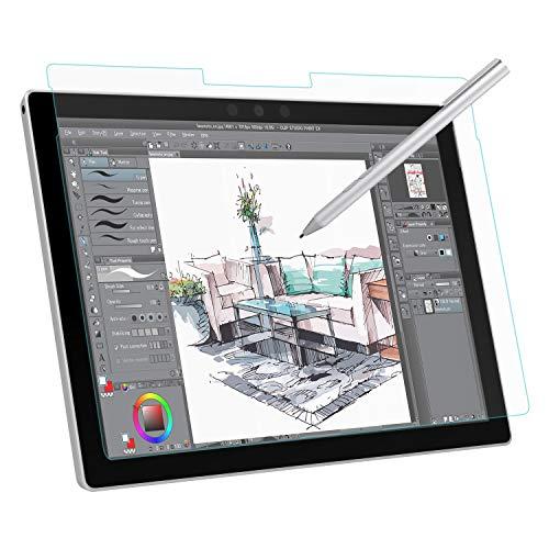 MoKo Schutzfolie Kompatibel für Surface Pro 6/5/4/LTE, Bildschirmschutzfolie wie auf Papier Schreiben, Malen & Zeichnen mit Passt zu Surface Pro 6 / Pro 5 / Pro 4 / Pro LTE Tablet - Transparent