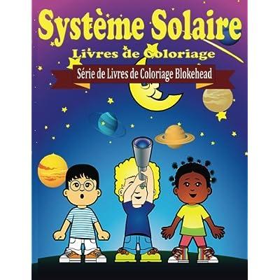 Systeme Solaire Livres de Coloriage