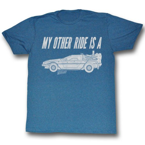 Back To The Future - HERREN My Other Ride T-Shirt As Shown