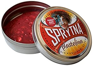 Plastilina Inteligente- Material de Modelado, Color Rojo (PL021)