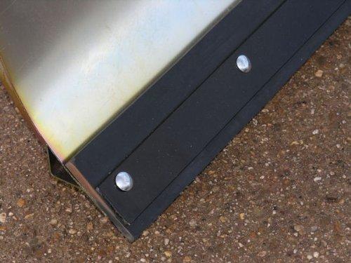 AGS AJ102 verzinktes Schneeschild 118x50 cm für Rasentraktore ID 2188