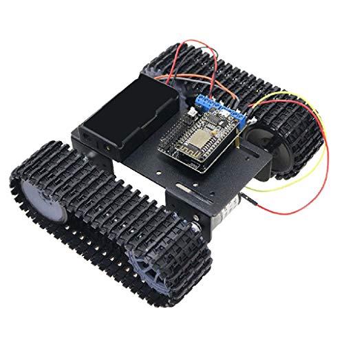 SM SunniMix Modelo Chasis Robot Coche Arduino con Orugas + Wireless Mando a Distancia