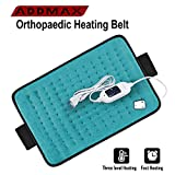 ADDMAX Orthopaedic Electric Heating Belt - Lower Back Heat Therapy Waist Wrap