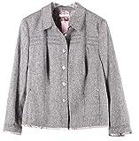 BASLER 23015 Damen Jacke Blazer Übergangsjacke Gr. 46 grau langärmlige