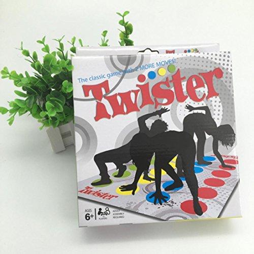QUINTRA Twister Spiele Twister Boden Spiel Twister Ultimate Spiel für Familie und Party