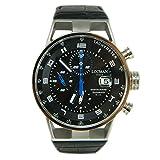 Orologio Locman Montecristo 0516A01S-00BKBLPK Automatico Acciaio Quandrante Nero Cinturino Pelle
