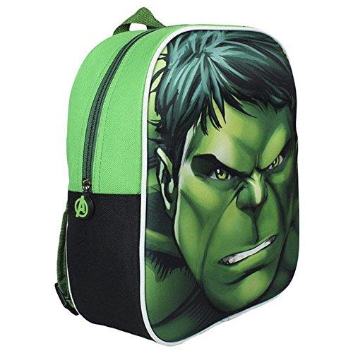 Image of Marvel 31 cm Avengers Hulk 3D Junior Backpack
