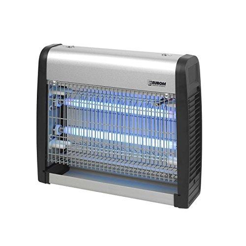 *Eurom Insektenvernichter Insektenlampe mit UV-Lampe 19W (2x 8W) und 100m² Reichweite*