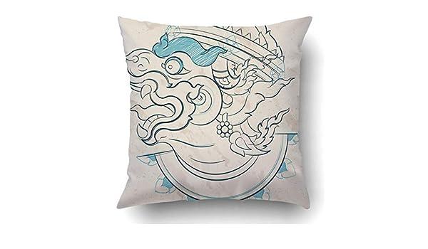 SHoelska Throw Pillow Covers Thai