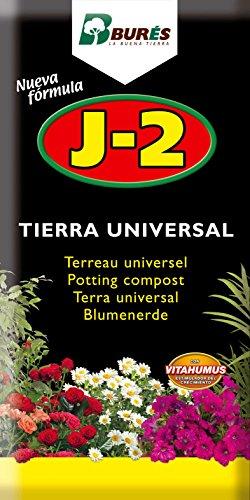 Bures J2 Sustrato Universal 5 l, Negro, 35x24x4 cm