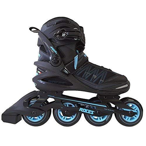Roces 400768Damen Modell Argon Fitness Inline Skate, US 10, schwarz/Azur