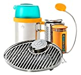 BioLite CampStove 2 Wood Burning and USB Charging Camping Stove CampStove 1 Bundle with Original CampStove 1 Bundle
