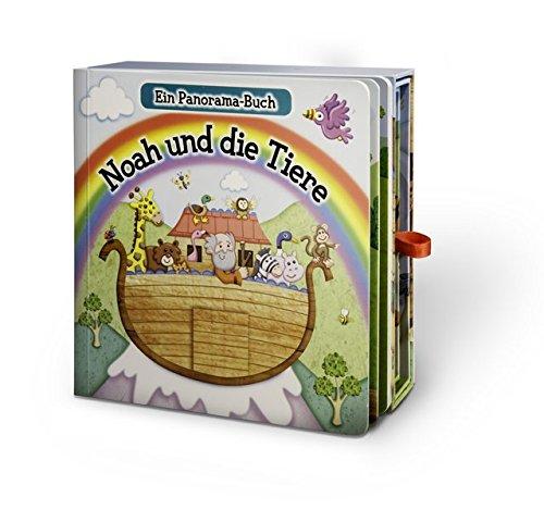 Noah und die Tiere: Ein Panorama-Buch