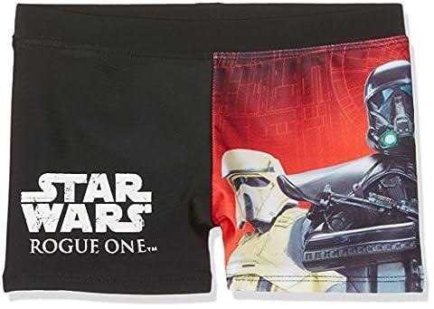 Star Wars-The Clone Wars Darth Vader Jedi Yoda Jungen Badehose 2016 Kollektion - rot, Rot Schwarz, 116