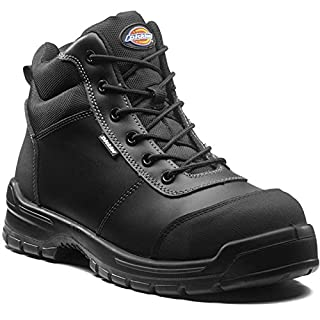 Dickies Mens Andover Boots Black Size 7