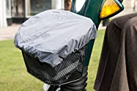 Ducksback waterproof bag / liner and cover for a Mobility Scooter Front Basket . Practical for carrying and keeping dry your shopping and other items