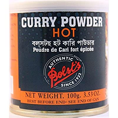 Bolst's Hot Curry Powder Tin 100g by Bolst's Indian Condiments