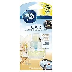 Idea Regalo - Ambi Pur Car Vaniglia Deodorante per Auto con Ricarica 7ml