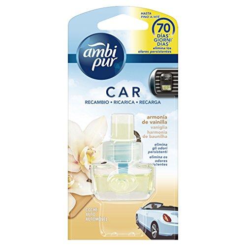 Ambi Pur Car Vaniglia Deodorante per Auto con Ricarica 7m