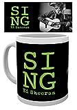 empireposter - Sheeran, Ed - Sing - Größe (cm), ca. Ø8,5 H9,5 - Lizenz Tassen, NEU - Beschreibung: - Keramik Tasse, w