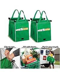 Saiyam Set Of 2 Carry-on Shopping Grab Bags