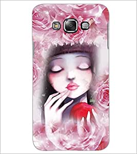 PrintDhaba Cute Girl D-3434 Back Case Cover for SAMSUNG GALAXY GRAND MAX (Multi-Coloured)