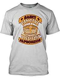 Bathroom Wall Frank Zappa Inspired Saint ALFONZOS Pancake Breakfast, Men's T-Shirt