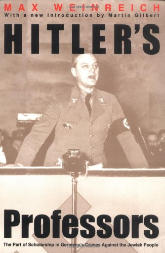 Hitlers Professors (Paper)