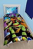 Teenage Mutant Ninja Turtles Dimension Panel Print Bettbezug-Set, Polyester-, Mehrfarbig, Single