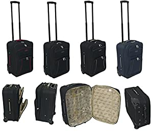 Lightweight Cabin Approved Hard Wearing and Light Weight Trolley Wheeled Luggage Bag
