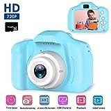 Kids Digital Camera, Womdee Mini 2.0 Inch Color IPS Screen 8MP Kid Video