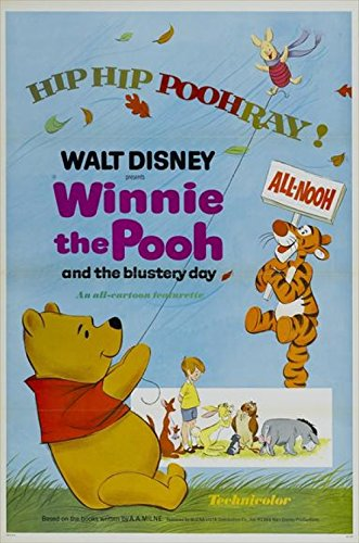 Winnie the Pooh and the Blustery Day Movie Poster (27,94 x 43,18...