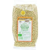 Werz Vollkorn-Quinoa gepufft ungesüßt, glutenfrei, 2er Pack (2 x 125 g Beutel) - Bio