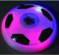 CP BigbasketAir Power Soccer Sport Football Toy Multi-surface Soft Foam Floating LED Light Up Flashing Music Football NO.3222