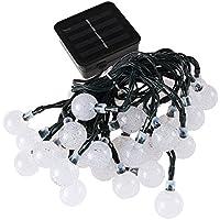 Solar cadena luces 30LED 2modos burbuja bola de cristal cadena de luces de Navidad luces para al aire libre de Navidad paisaje jardín Patio Casa Vacaciones camino césped decoración 1pcs