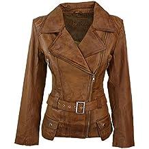 Modestile professioneller Verkauf an vorderster Front der Zeit Suchergebnis auf Amazon.de für: lederjacke damen braun lang