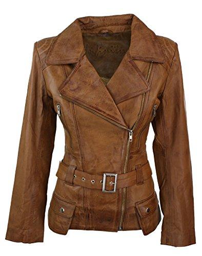 Veste Trench femmes mi-longue véritable cuir Designer d'occasion  Livré partout en Belgique