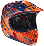 Fox Kinder Helm V1 Race, Orange/Blue, S, 15227-592